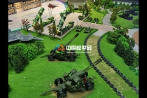 军事主题乐园沙盘模型