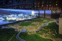 规划沙盘模型丰富的信息展示量全面反映城市
