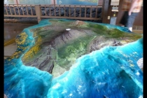 地形沙盘模型制作黑科技,高精度全数控制作