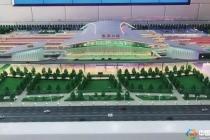 通过沙盘模型看京张高铁线工程,预计2019年底建成通车