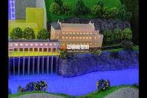 水风光蓄储一体化沙盘模型