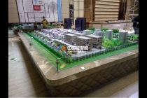 义乌商贸城沙盘模型