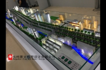 杭州天目山道路改造01标工程沙盘模型