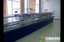 宁波地铁站台沙盘模型