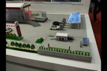 智慧交通沙盘模型演示