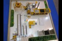 工业生产流水线沙盘模型
