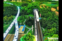 常益长高速铁路CYCZQ-6标沙盘模型(中铁十一局)