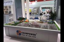 汉伏能源高效光伏组件应用场景沙盘模型