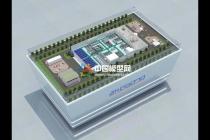 工厂智能生产线沙盘模型