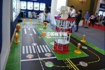 机场跑道灯光系统沙盘模型