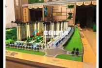 楼盘建筑模型设计制作工艺及涉及内容分析