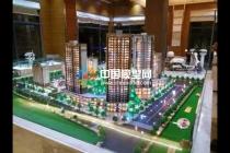 建筑模型与景观的完美搭配组成沙盘模型