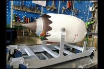 飞机发动机模型