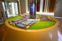 铝业公司厂区规划沙盘模型