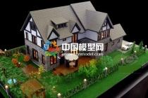 建筑模型匹配花草树木分概念与写实凸显效果