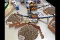 建筑垃圾破碎站沙盘模型