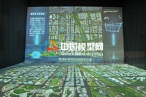模型公司分析智慧城市沙盘模型各个节点