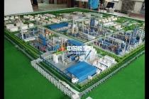 石油化工厂沙盘模型