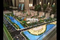 天润国际公馆售楼建筑模型