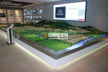 中国美妆小镇规划沙盘模型