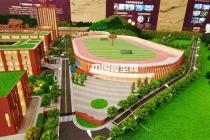 广州源雅学校沙盘模型