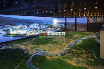 宜昌市总体规划沙盘模型