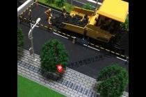 杭州江干市政工程施工场景模型
