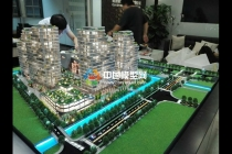 香港上环中保项目建筑模型
