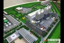 燃机热电沙盘模型,协鑫电厂模型