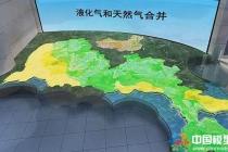 深圳燃气电子沙盘模型
