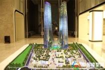 绿地杭州之门建筑模型