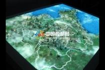 山体地理沙盘模型不光商展科技教育领域多用途