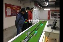高铁动车地铁行车调度仿真模拟沙盘模型