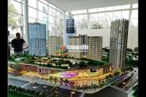 滇池明珠万达广场建筑模型