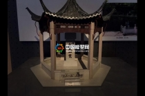 江天一览亭模型