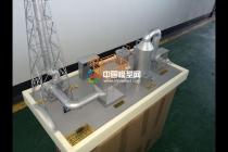 废气净化处理系统沙盘模型