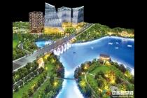 精品地产模型赏析:绿地长岛模型,万科城市广场模型
