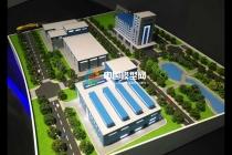 中国航天新一代运载火箭产业基地沙盘模型