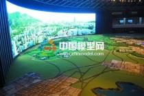 规划馆沙盘模型展示大规模运用了前瞻数字技术