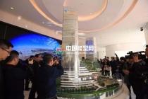 凯达尔枢纽国际广场沙盘模型