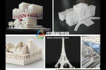 3D打印建筑模型技术时代来临,快速高效