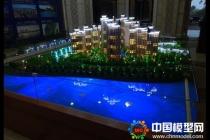 恒怡湾售楼处建筑模型