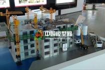 剪刀墙结构吊装模型,PC构建生产线模型
