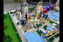 山水水泥厂区沙盘模型
