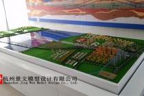 杭州地铁6号线过江隧道沙盘模型