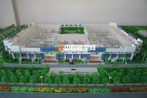 制药厂沙盘模型
