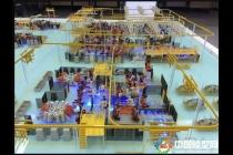 生产线动态沙盘模型