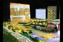 横琴国际科技创新中心模型