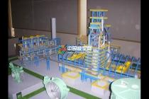 高炉生产工艺展示沙盘模型