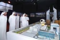 阿联酋塔楼商业园项目模型概览